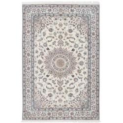 tappeto persia nain fine con seta cm 196x300