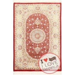 tappeto persia ghom seta cm 96x144
