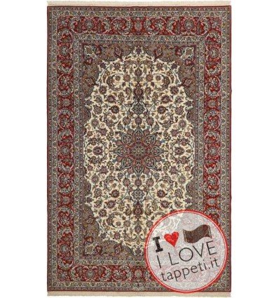 tappeto persia isfahan cm 202x310