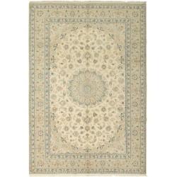 tappeto persia nain fine con seta cm 196x293