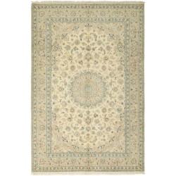 tappeto persia nain fine con seta cm 198x304