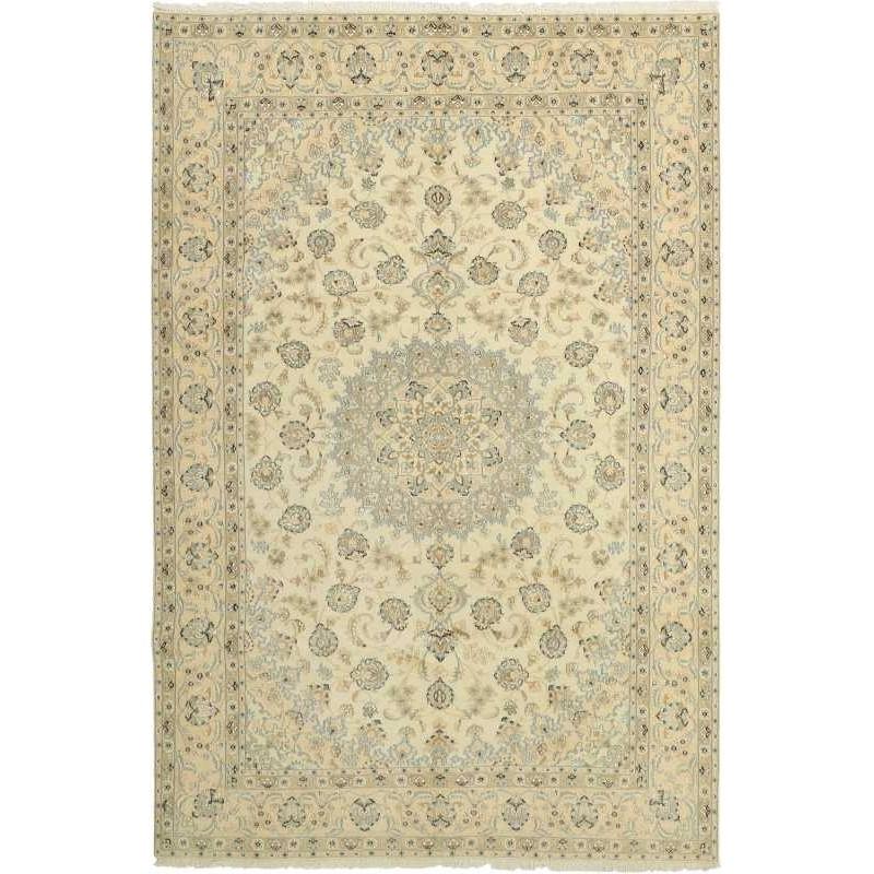 tappeto persia nain fine con seta cm 200x301
