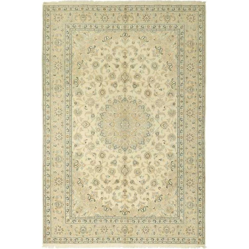 tappeto persia nain fine con seta cm 198x300