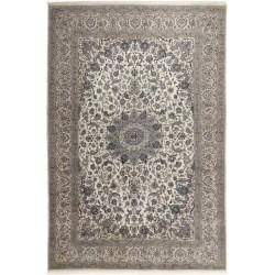 tappeto persia nain fine con seta cm 350x505