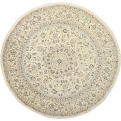 tappeto persia nain fine con seta cm 261x261