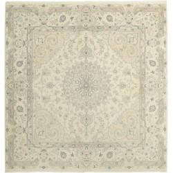 tappeto persia nain fine con seta cm 201x215