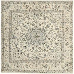 tappeto persia nain fine con seta cm 203x207