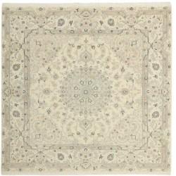 tappeto persia nain fine con seta cm 200x206
