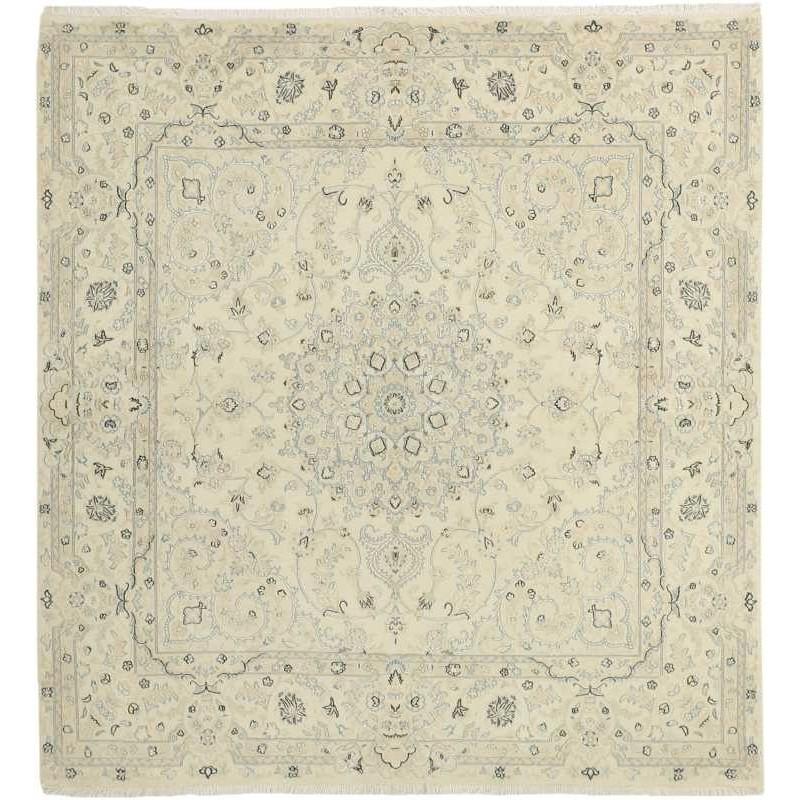 tappeto persia nain fine con seta cm 194x208