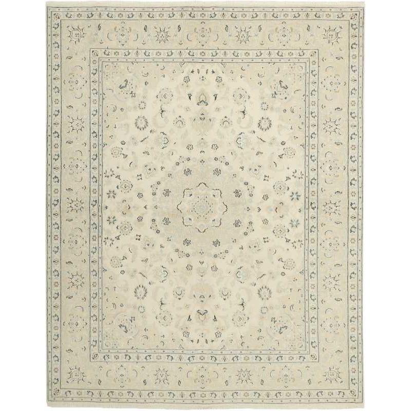 tappeto persia nain fine con seta cm 196x249