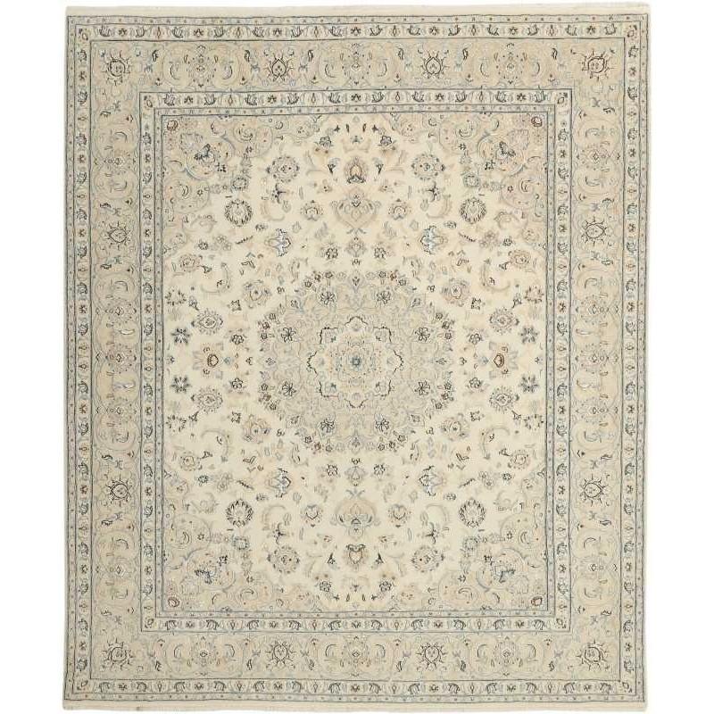 tappeto persia nain fine con seta cm 199x247