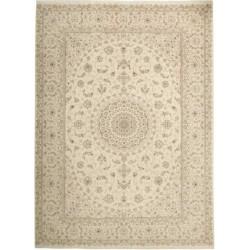 tappeto persia nain fine con seta cm 250x345
