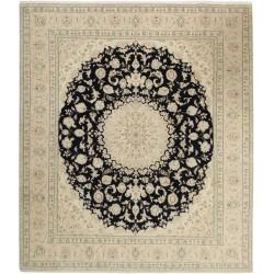 tappeto persia nain fine con seta cm 248x298