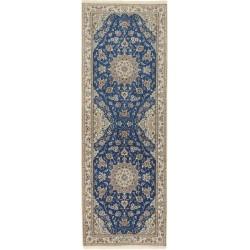 tappeto persia nain extra fine silk cm 70x202