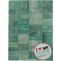 tappeto persia vintage patchwork cm 142x201