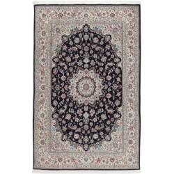 tappeto persia nain fine con seta cm 193x300