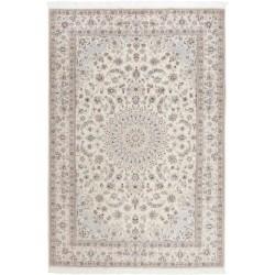 tappeto persia nain fine con seta cm 210x303