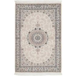 tappeto persia nain fine con seta cm 104x150