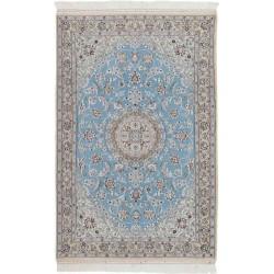 tappeto persia nain fine con seta cm 115x178
