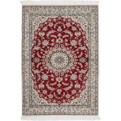 tappeto persia nain fine con seta cm 106x148