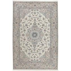 tappeto persia nain fine con seta cm 208x313