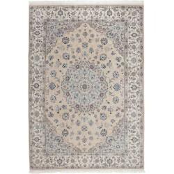 tappeto persia nain fine con seta cm 255x350