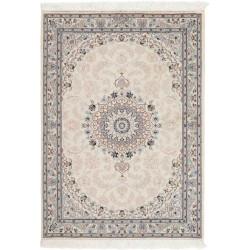 tappeto persia nain fine con seta cm 107x145