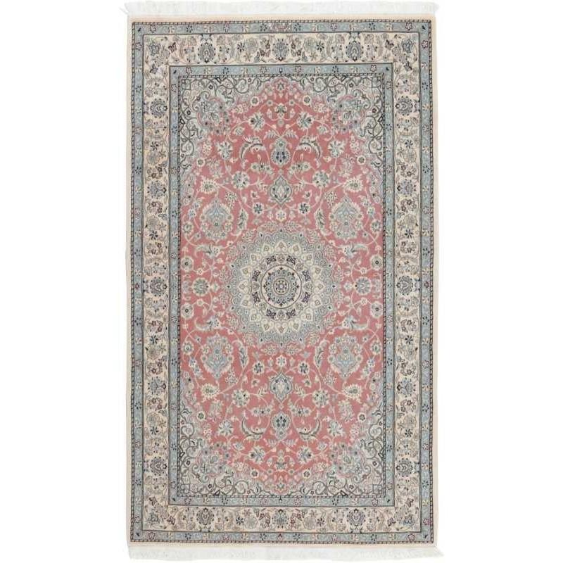 tappeto persia nain fine con seta cm 145x244