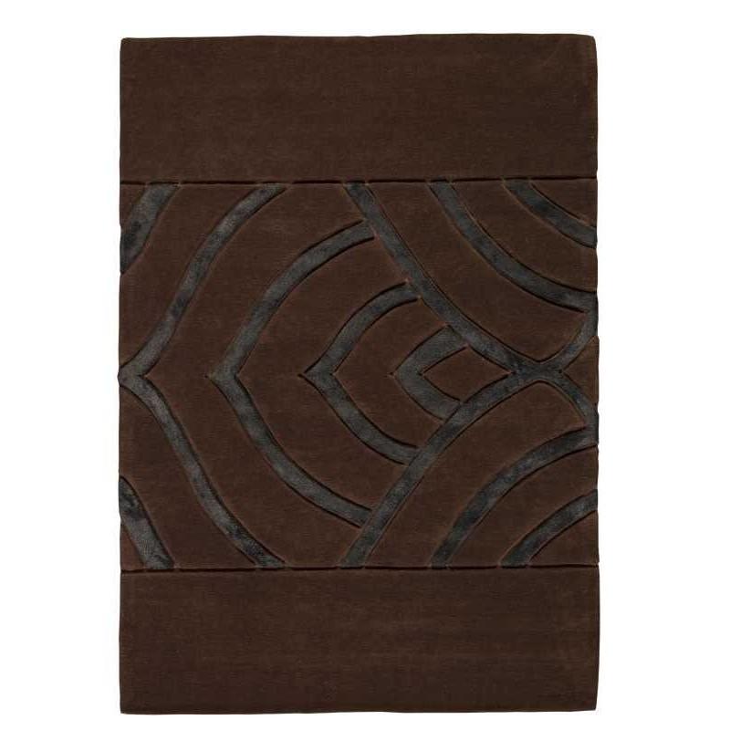 Carpet moderno Iris brown Renato Balestra cm.170x240 in offerta