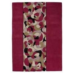 Carpet moderno Living pink Renato Balestra cm.140x200 in offerta