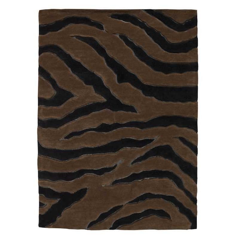 Tappeto moderno Nova black brown Renato Balestra cm.140x200 in offerta