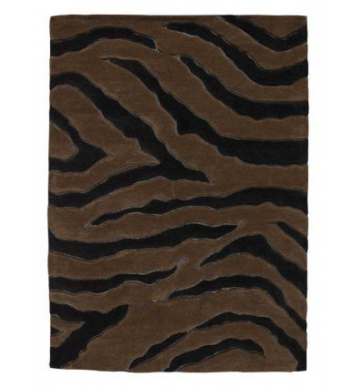 Carpet moderno Nova black brown Renato Balestra cm.140x200 in offerta