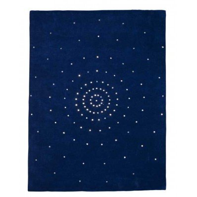 Carpet moderno Skye blue Renato Balestra cm.140x200 in offerta