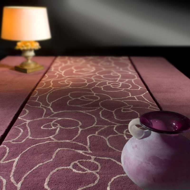 Carpet moderno Vega violet Renato Balestra cm.170x240 in offerta