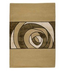 Tappeto moderno Wallflor Gravity Beige Lauren Jacob