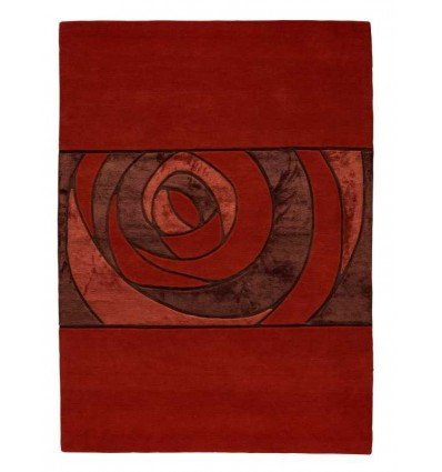 Carpet moderno Wallflor Gravity Red Lauren Jacob
