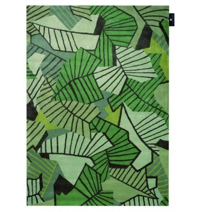Tappeto moderno Wallflor Ivy Green Lauren Jacob