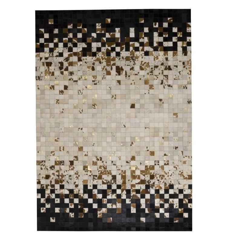 Tappeto moderno Wallflor Rain Brown Lauren Jacob