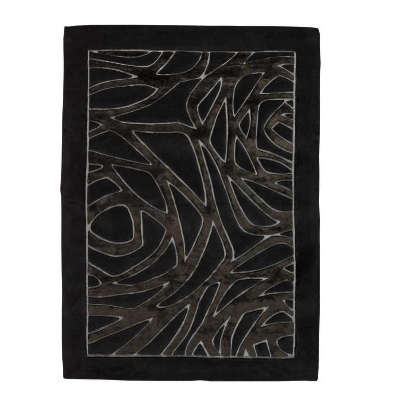 Tappeto moderno Wallflor Thea Black Lauren Jacob