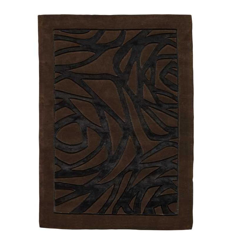 Tappeto moderno Wallflor Thea Black Brown Lauren Jacob