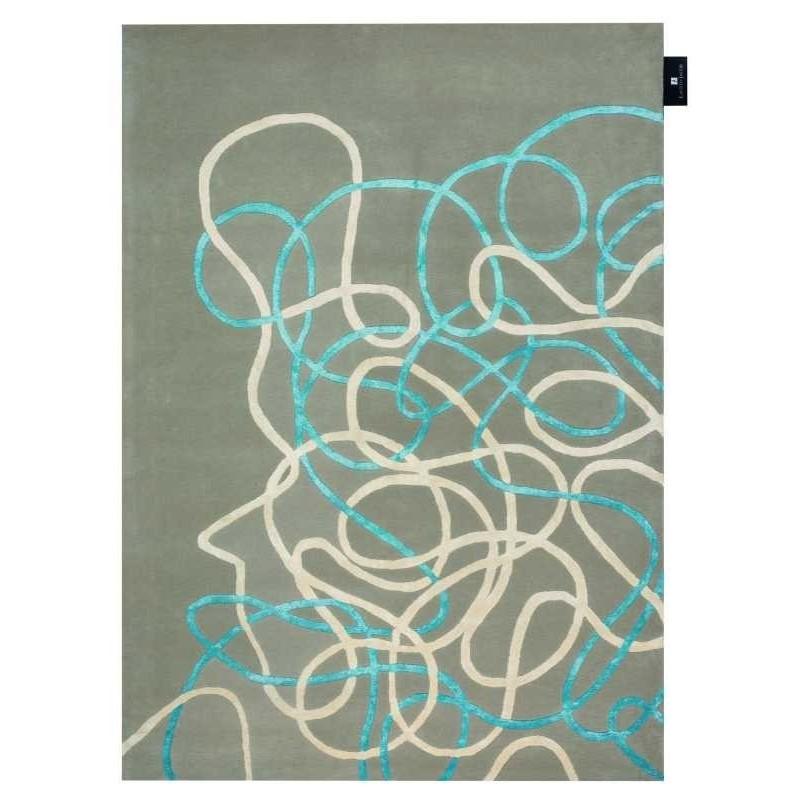 Carpet moderno Wallflor Crossroads Dove Lauren Jacob