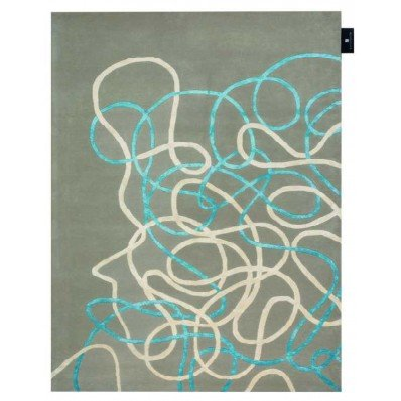 Tappeto moderno Wallflor Crossroads Dove Lauren Jacob