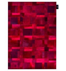 Carpet moderno Wallflor Flame Red Lauren Jacob