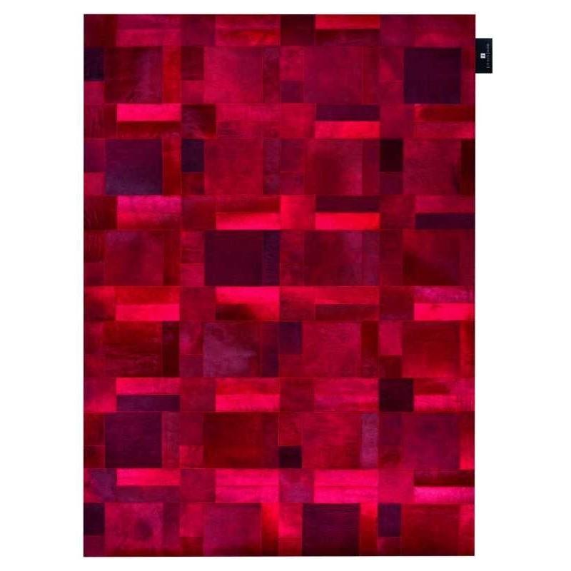 Carpet moderno Wallflor Flame Red Lauren Jacob
