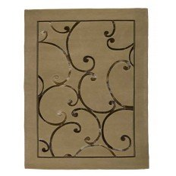 Carpet moderno Wallflor Bolero Beige Lauren Jacob