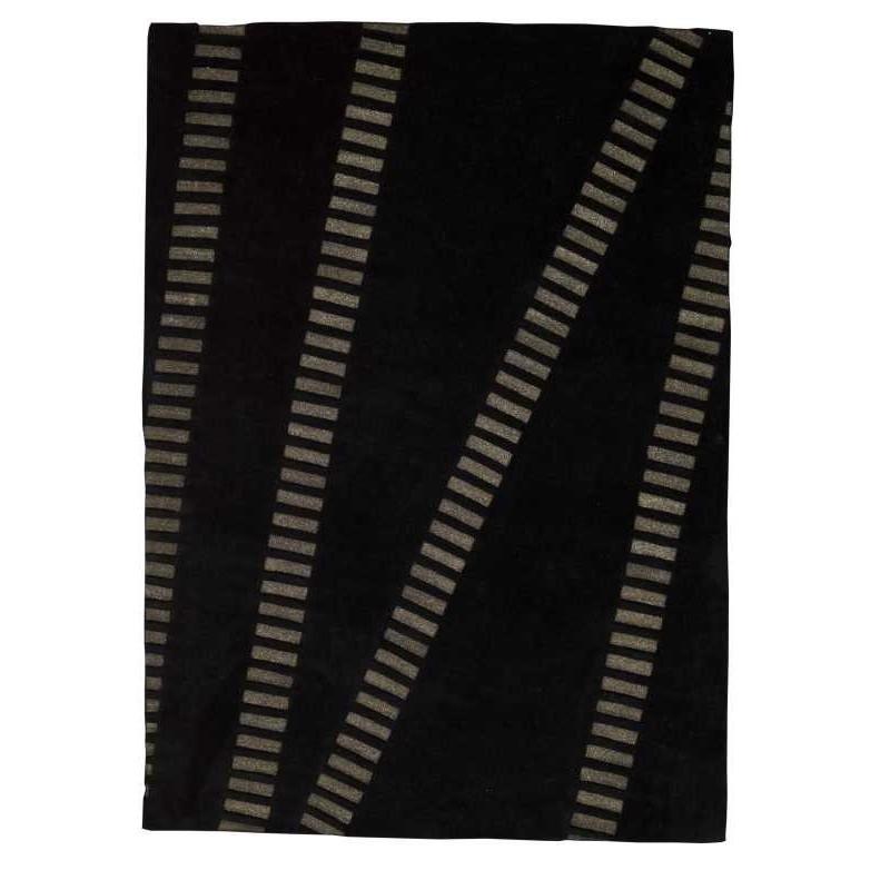 Carpet moderno Wallflor Swing Black Lauren Jacob