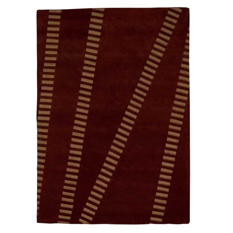 Carpet moderno Wallflor Swing Red Lauren Jacob