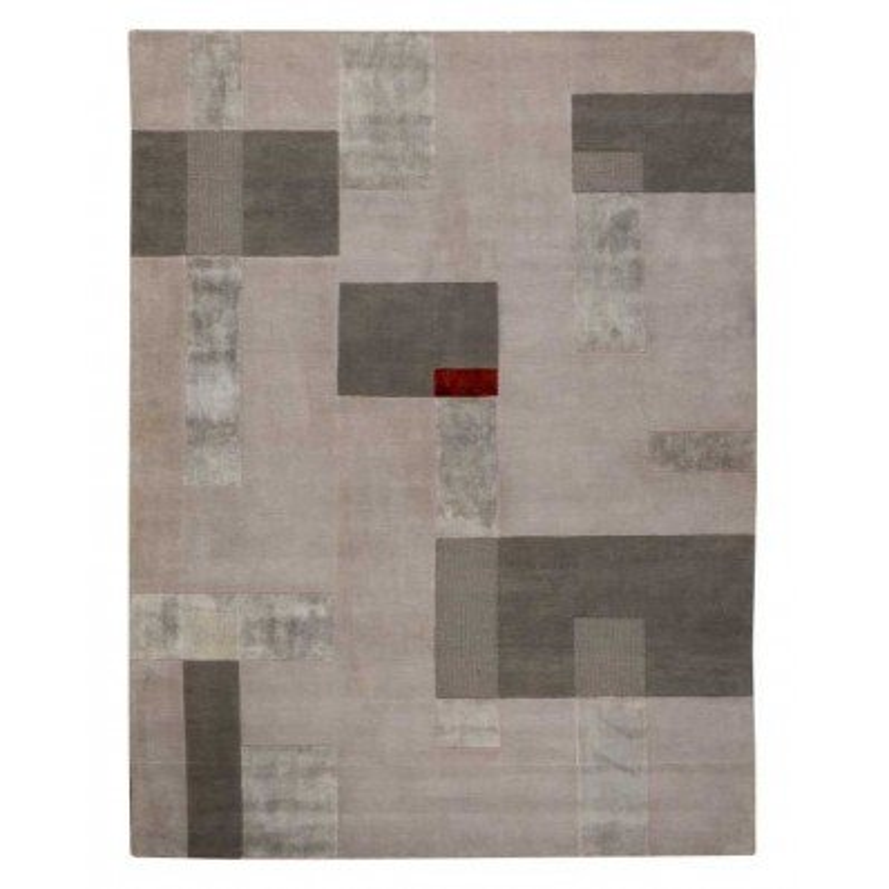 Carpet moderno Wallflor Ossian Grey Lauren Jacob