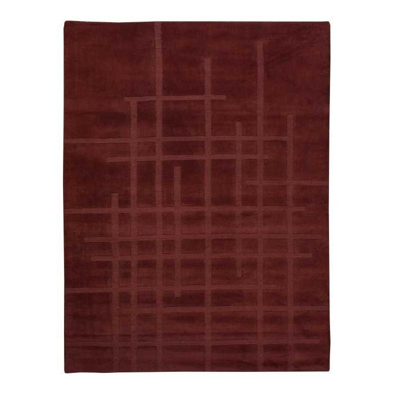 Carpet moderno Wallflor Street Aubergine Lauren Jacob