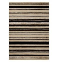 Tappeto moderno Wallflor Barcode Black White Lauren Jacob